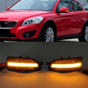 1Set Dynamic Turn Signal Light LED Rearview Side Mirror Light Blinker Indicator Light For Volvo S40 S60 S80 C30 V50 V70