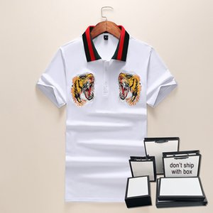 20sses hommes de concepteur T-shirts T-shirts Collier Collier Polo Tshirt Casual Summer Summer Hommes T-shirts Femme Couleur Solid Couleur Top Top Tees