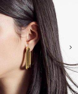 أزياء هوب هوجي أقراط aretes للنساء حزب الزفاف الاشتباك عشاق مجوهرات هدية مع صندوق NRJ