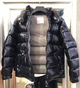 Men Nylon Short Down Jacket Polyester Black Grey Inside Winter Outwear Fashion Male Warm Hooded Zipper Sport Padded Coat
