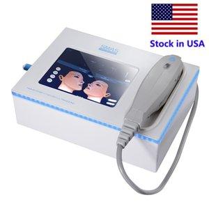 Stok ABD Profesyonel HIFU Zayıflama Makinesi Yüksek Yoğunluk Odaklanmış Ultrason Yüz Kaldırma Kırışıklık Temizleme Vücut Kilo Kaybı 5 Heads Ev Salon Kullanımı