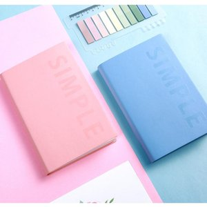Pocket Notebook A6 Agendas 2021 Self-filling Planner Organzier Daily Plan Weekly Monthly Journal Diary Notepad School Supplies Notepads