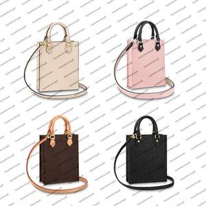 M57937 PETIT SAC PLAT desinger bag women lady canvas embossed genuine calf leather iconic handbag top handle purse shoulderbag across body