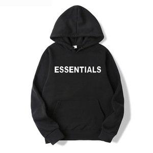 2o Fellical Hohe Qualität Herren Womens Hoodies Freizeit Mode Sweatshirts Nebel Essentials Markenkleidung Pullover Hip Hop Pullover Designer 2021 Trainingsanzug Sportswear
