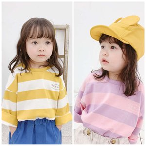 T-shirts spring Korean 2021 T-shirt Huzhou Zhili children's wear 19020