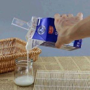 2pcs Sceau de lait Clips Multifonctionnel Scellé Scellé Garder le dossier de Boîte frais Carton Sac à sceller emballé