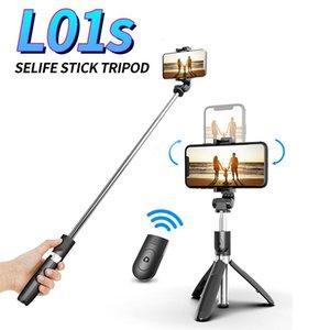 Trépied Bluetooth Selfie sans fil avec obturateur à distance Trépieds pliables Monopodes Universal pour téléphones Android