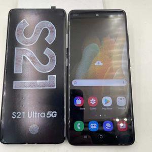 6.8 بوصة HD Goophone S21 الترا RAM 1GB ROM 8GB WCDMA 3G رباعية النواة كاميرا 8.0MP Andriod 10 OS عرض 5G 12 + 512GB PK S20 Note20 12 Pro Max