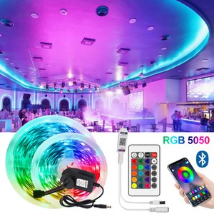 LED Strip Lights, Bluetooth Waterproof SMD 5050 Tape Rope String 33ft App and Remote Control,Timming & Muisc Sync Lights for Room Party Lighting Decoration