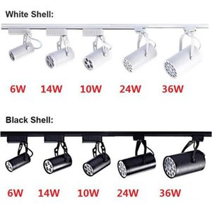 Beafup Led Track Light 6w 10w 14w 24w 36w 120 Beam Angle Cold Warm White LedS Ceiling Spotlight ac 85265v spot lighting ce rohs ul Clothing Store Home Shop Indoor