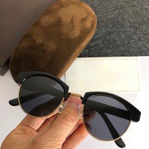 الاستقطاب الرجال النظارات الشمسية المعادن الإطار الكامل خمر النظارات القيادة حملق للنساء الرجال حجم 52-21-145
