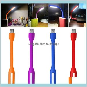 Mini Led Usb Read Light Computer Lamp Flexible Ultra Bright For Notebook Pc Power Bank Partner Computer Tablet Laptop Many Color Vvd3Q Opbgs