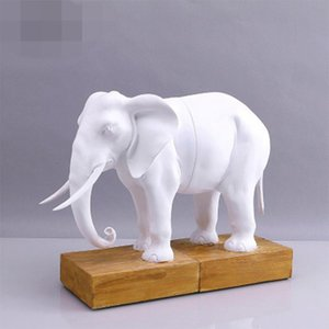 Modern Simple Creative Ornaments Gift Tv Cabinet Resin Crafts Elephant Bookstand