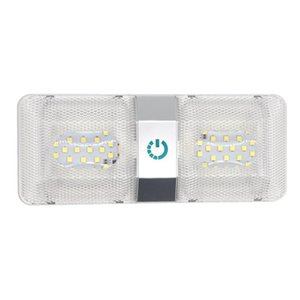 PC DC 12V LED RV Teto Cúpula Luz de Luz de Luz Luminária Luzes Camper para Acessórios ATV Peças