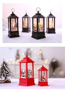 led light toy small portable oil lamp shopping mall window bar restaurant interior decoration flame lamps Christmas decorations supplies