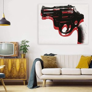 Pistol Large Oil Painting On Canvas Home Decor Handcrafts  HD Print Wall Art Pictures Customization is acceptable 21072106