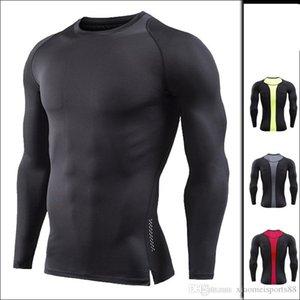 2020 camisa deportiva al por mayor nuevo desgaste manga larga musclegues culturismo primavera manga larga otoño nuevo manga larga hombres branclotd gimnasio