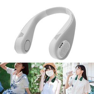 Leafless 3000Mah Battery Personal Fan Low Noise Around The Neck Electric Fans
