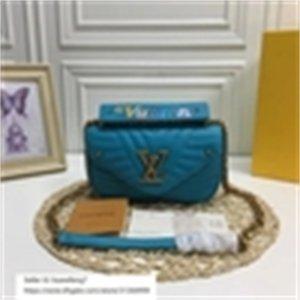 libobo7 handbags onda azul 21 mulheres novas malas icónicas manchas superiores bolsas de ombro totes bolso cross saco de corpo embreamento