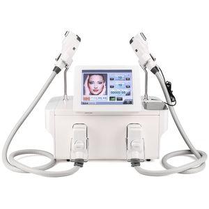 RF معدات تشديد الجلد آلة التبريد آلة تردد الراديو كثافة عالية تركز مع 1.5 ملليمتر 2.5mm 4MM لإزالة التجاعيد رفع الوجه