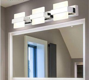 2 3 4 lights Bathroom Mirror Lamp Waterproof Cabinet Vanity Led Wall Light Modern