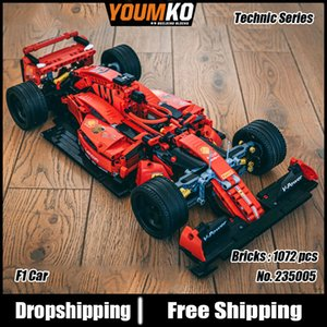 Creator Expert Famous 023005 RSR Super Racing Car GTE F1 Sports Vehicle Building Blocks Moc Model Modular Bricks Boys Toys