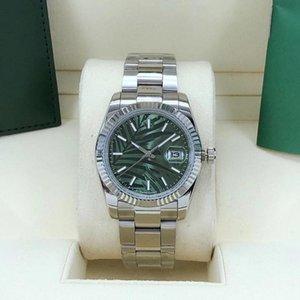 Relógio dos homens 36mm novo produto Automatic Mechanical Date à prova d 'água Sapphire Vidro Aço Inoxidável