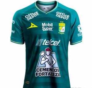 Jersey de fútbol Top Campur Away estar fuera de la liga de México 20-21 Traje Dos fanáticos Can Leon Customized Top-Leon Home - Camiseta
