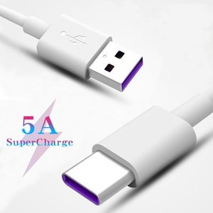 5A 40W quick charging USB cables length of 1-1.5 meters is suitable for all Type-C