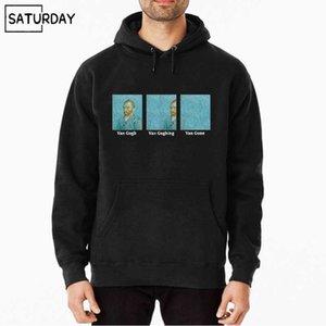 남성 반 고흐 반 주니 밴 가리 쥬드 스웨터 여성 하라주쿠 후드 스웨터 스트리트웨어 까마귀 검은 까마귀 201021