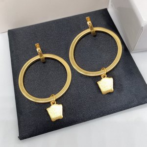 Fashion gold Huggie hoop earrings aretes for women party wedding lovers gift jewelry engagement NRJ