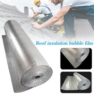 Shade Double Bubble Reflective Foil Insulation Film Multifunctional Waterproof Sun Protection For Roof Floor Wall
