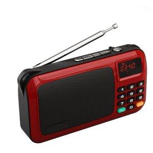 롤튼 W405 휴대용 TF 카드 USB 미니 FM 라디오 LCD 디스플레이 서브 우퍼 MP3 음악 플레이어 / 토치 램프 / PC / 이어폰을 확인