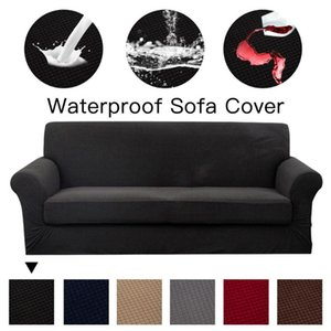 Chair Covers Solid Color Sofa Cover High Stretch Universal Sectional Slipcover Super Soft Fabric Couch For Living Room