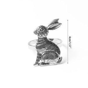 Easter Napkin Ring Holder Metal Table 37MF Rings