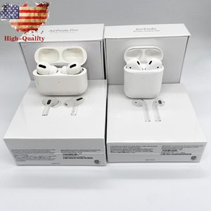 For AirPods Pro Air Gen 3 AP3 AP2 H1 Chip Metal Hinge Wireless Charging Bluetooth Headphones pk Airpods 2 AP Pro AP2 W1 Earbuds 2nd Generation