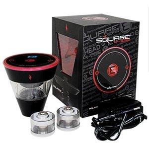 Square E Head Ehead Hose Kit Mini Shisha Cartridge Refillable Ehookah Disposable Hookah 2400mAh Vaporizer 8ml Heads Tank