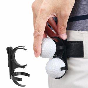Pc Fashion Black Plastic Golf Ball Clip Foldable Golfing Sporting Training Tool For Golfer Aids