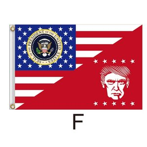 90*150cm Trump 2020 Flag Donald Trump Keep America Great Banner New Designer Flags Festive Garden Decoration Flags GGA4393