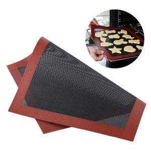 Herramienta de hornear Matería de galleta de silicona Antideslizante Pizza Pan Caneo Horno Microondas Accesorios Cocina Accesorios Rolling Pins Pastry Boards