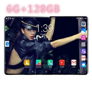Tablet PC 10.1 Inch Android 9.0 10 Core 6GB+128GB 5MP Camera 1280*800 IPS Dual SIM Card WIFI GPS 4G Phone