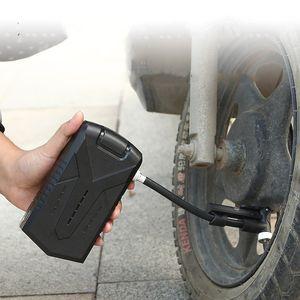 Электрический воздушный насос Портативные Мини-шины Наполнитель Компрессорное велосипедное велосипедное велосипед Мотоцикл с дисплеем давления TRE 646 x2