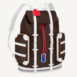 5 цветов мужской рюкзак Кристофер школьная сумка баскетбол рюкзак путешествия спортивные рюкзаки дизайнеры большие сумки Q5ql #