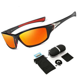 새로운 TR90 Untralight 프레임 HD 편광 된 선글라스 낚시 안경 남성용 사이클링 안경 여성 스포츠 하이킹 Golf T200615