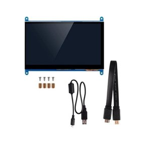 7 Inch Full View LCD IPS Press Sn 1024X600 HD Display Monitor for Raspberry Pi
