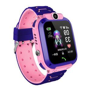 SOS Locator Kids Watches Call Smart For Children S12 Waterproof Clock SIM Card Location LBS Tracker 21ss