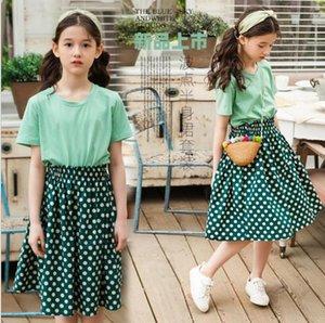 Наборы одежды Оптом одежды для девочек в летних высококачественных детских модах 6CPS / Лот 4-14 год