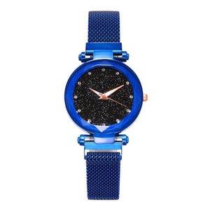 Celebrità online che vendono lazy Ladies 'Ch Cinghia magnetica Star Star Women's Wristwatches da donna