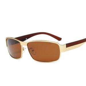 Óculos de sol polarizados Marca Designer Proteção de Olhos Masculinos Condução Óculos Oculos de UV400