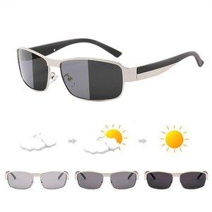 Photochromic Polarized Sunglasses Men Discoloration Eyewear Anti Glare Glasses Driving Goggles Oculos Lentes De Sol Mujer Uv400